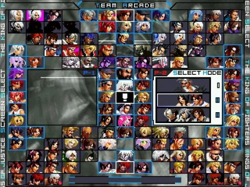 King Of Fighters Wings Of Justice 2016 - Full MUGEN Games