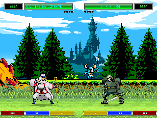 Shovel Knight Stage