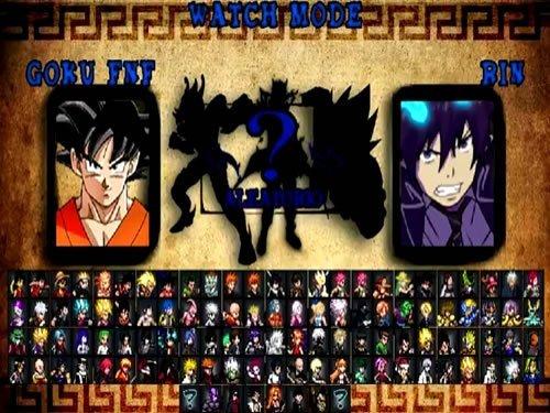 Anime Jump Ultimate Stars Battle 2 - Full MUGEN Games - AK1