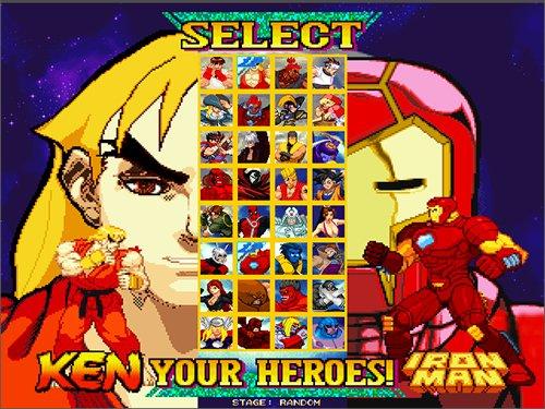 Marvel vs Capcom Remake MUGEN