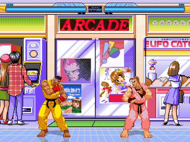 Old School Arcade Room