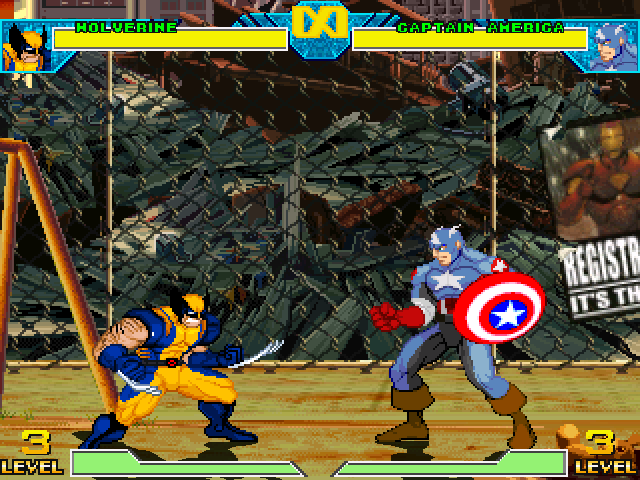 Marvel VS Capcom 1 Lifebars
