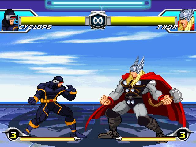 Tatsunoko VS Capcom Lifebar