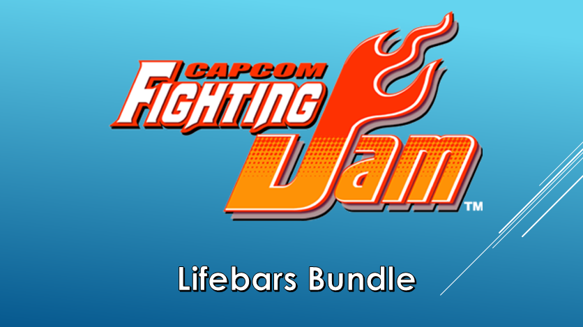 Capcom Fighting Jam Lifebars Bundle