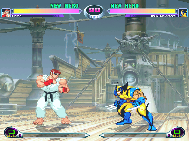 Marvel VS Capcom 2 Lifebars
