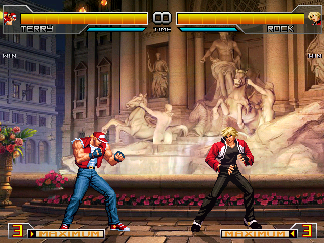 KOF 2002 Unli Match Lifebar
