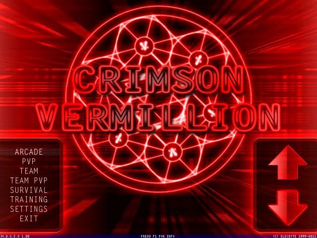 Crimson Vermillion Screenpack