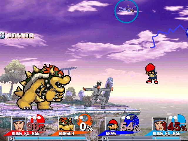 Super Smash Bros System Mugen 1 1 - Add-ons - AK1 MUGEN