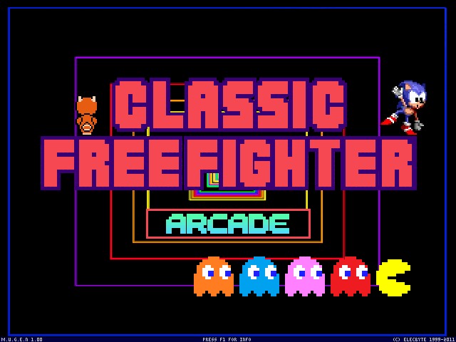Classic Free Fighter Screen Pack