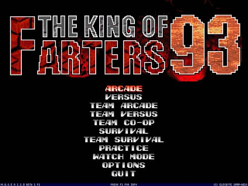 The King of Farters '93