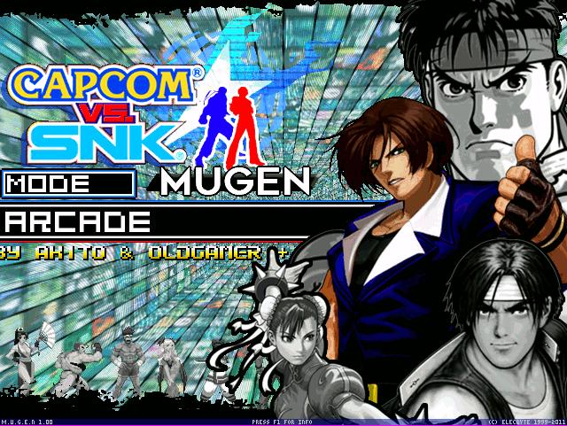 Capcom VS SNK Mugen Screen Pack 1.1 & 1.1