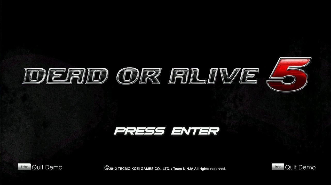 Dead or Alive 5 HD Mugen SP