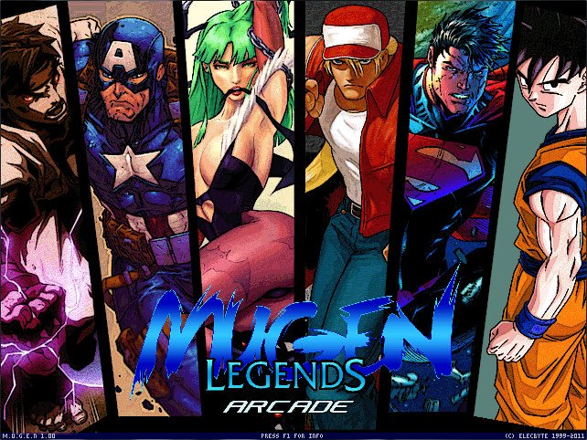 Mugen Legends Screenpack