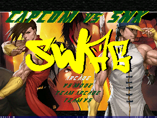 Capcom Vs Snk SWAG Screenpack