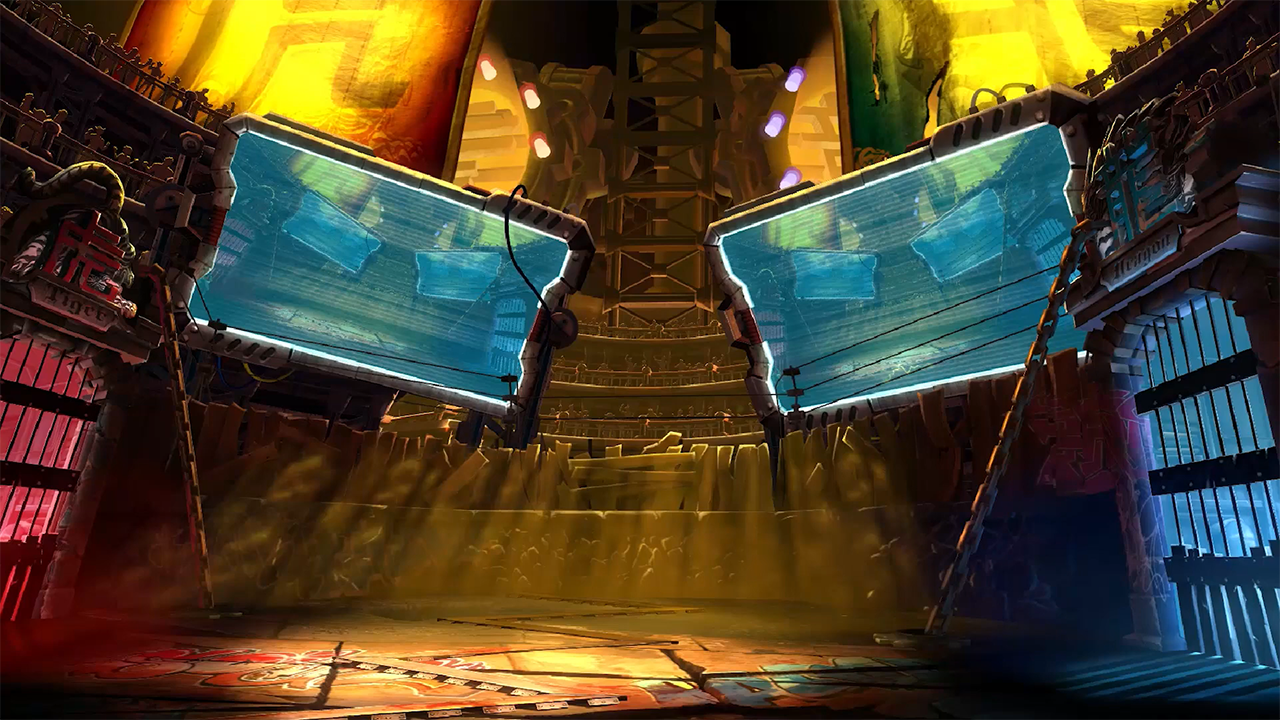 blazblue CP/CF stages pack