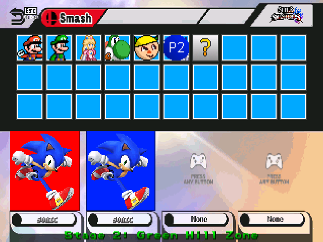 Smash Bros for PC Screenpack