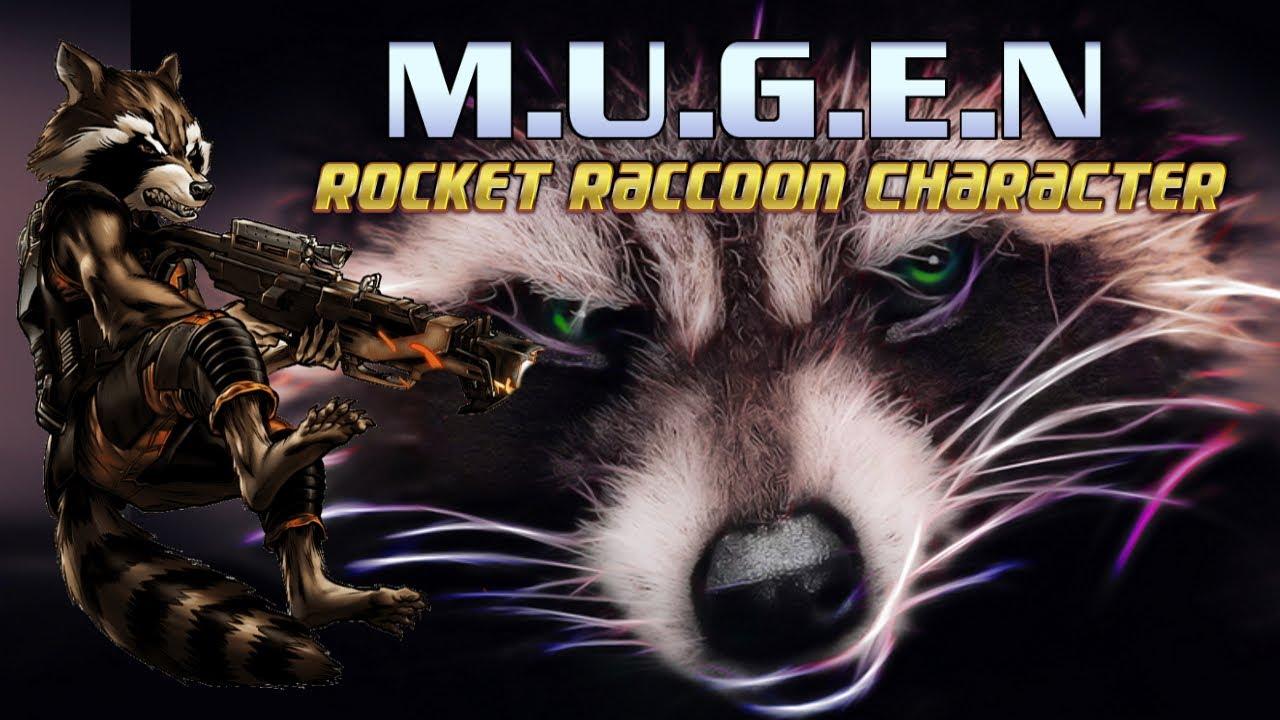 ROCKET RACCOON MVC2!