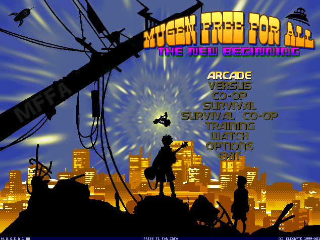 Mugen Free For All: The New beginning  1.0