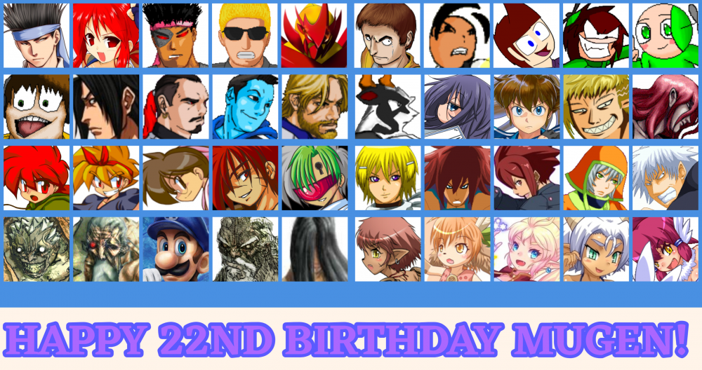 MUGEN 22nd Anniversary Collage.png