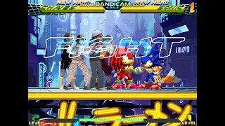 Team Chaves vs Team Sonic MUGEN BATTLE