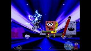 MUGEN Paper Mario X2 Vs Doodlebob and Abrasive Spongebob