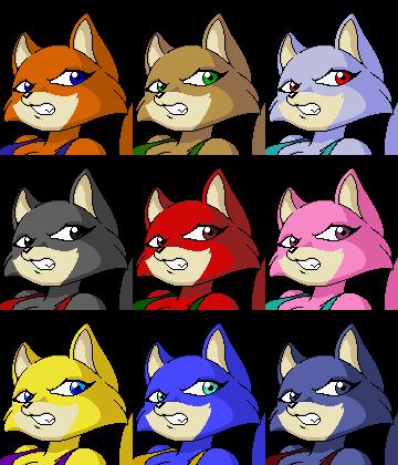 Foxy Roxy portraits